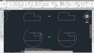 AutoCAD 2015 2D 教學課程 0111 圓角(FILLET) 講解