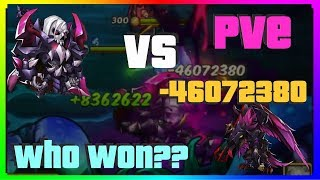 IDLE HEROES E3 BAADE PVE Everything to Know! Who Won? Stress-Tested vs E3 Horus [iOS]