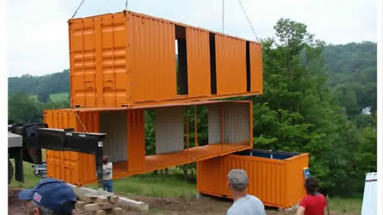 Best Kitchen Gallery: Shipping Container Homes South Africa Youtube of Container Home Construction  on rachelxblog.com