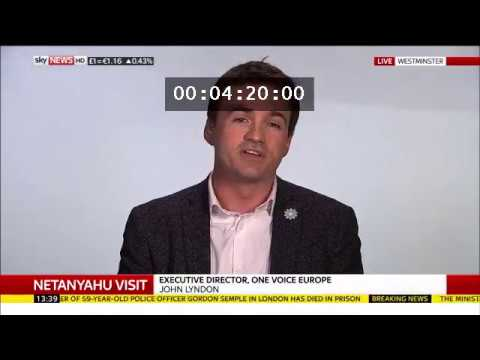 OneVoice Europe Executive Director on Sky News
