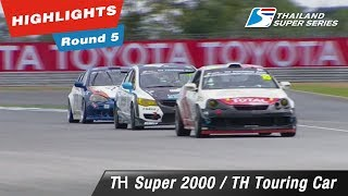 Highlights Thailand Super 2000 / Thailand Touring Car : Round 5 @Chang International Circuit