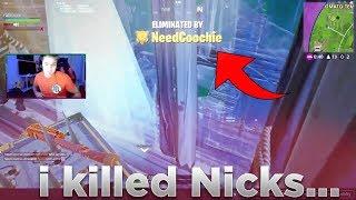 soo... basically i killed Nicks! (Fortnite Battle Royale)