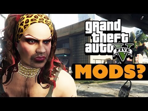 GTA 5 First MODS?- Dude Soup Podcast #12