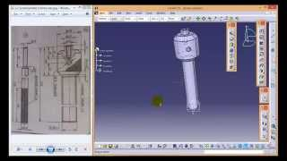 CATIA V5 Tutorial\Beginners\ Screw Jack Assembly\how to create Screw Spindle part_2
