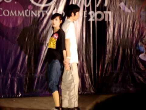Nhảy hiện đại - thi miss & mr Hanoi commnity college