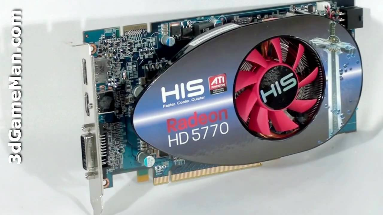 HIS HD 5770 1GB GDDR5 Video Card Video Review