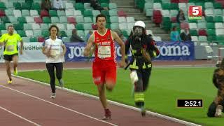 Работники МЧС стали вторыми на Белорусских легкоатлетических играх