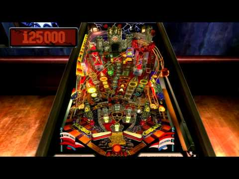 The Pinball Arcade - Medieval Madness - PS3 - 8.5B+ points