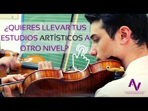 Video Promocional del Conservatorio Superior de Música de Jaén