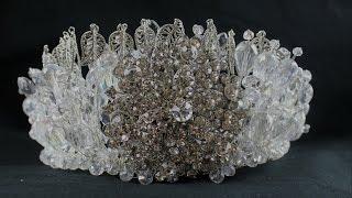 DIY Wedding Crystal Crown