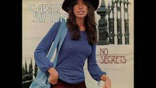 Carly Simon The Right Thing To Do...for you Jack