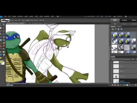 Drawing Turtles (Whispering)