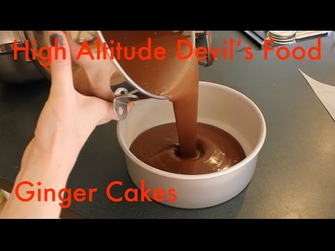 How To Alter A Recipe For High Altitude: Devil's Food