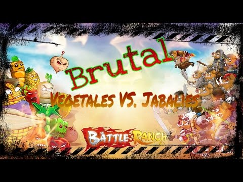 Vegetales VS Jabalies - Battle Ranch