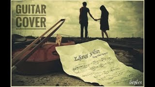 Lặng Yên | Bùi Anh Tuấn ft. Ái Phương | Guitar Cover