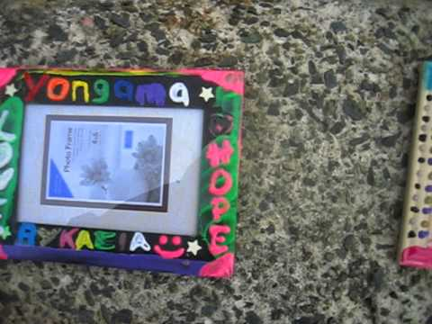 Parkside Christian Academy Creates Frames for Pen Pals In South Africa