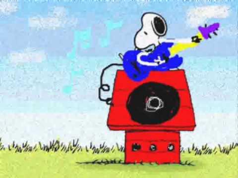 Jingle Bells Snoopy Merry Christmas Charlie Brown by Peter Ruellan ...