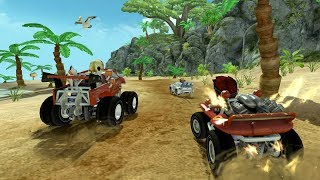 Beach buggy racing game ! race in jungle in water bridge! child racing games ! race 11