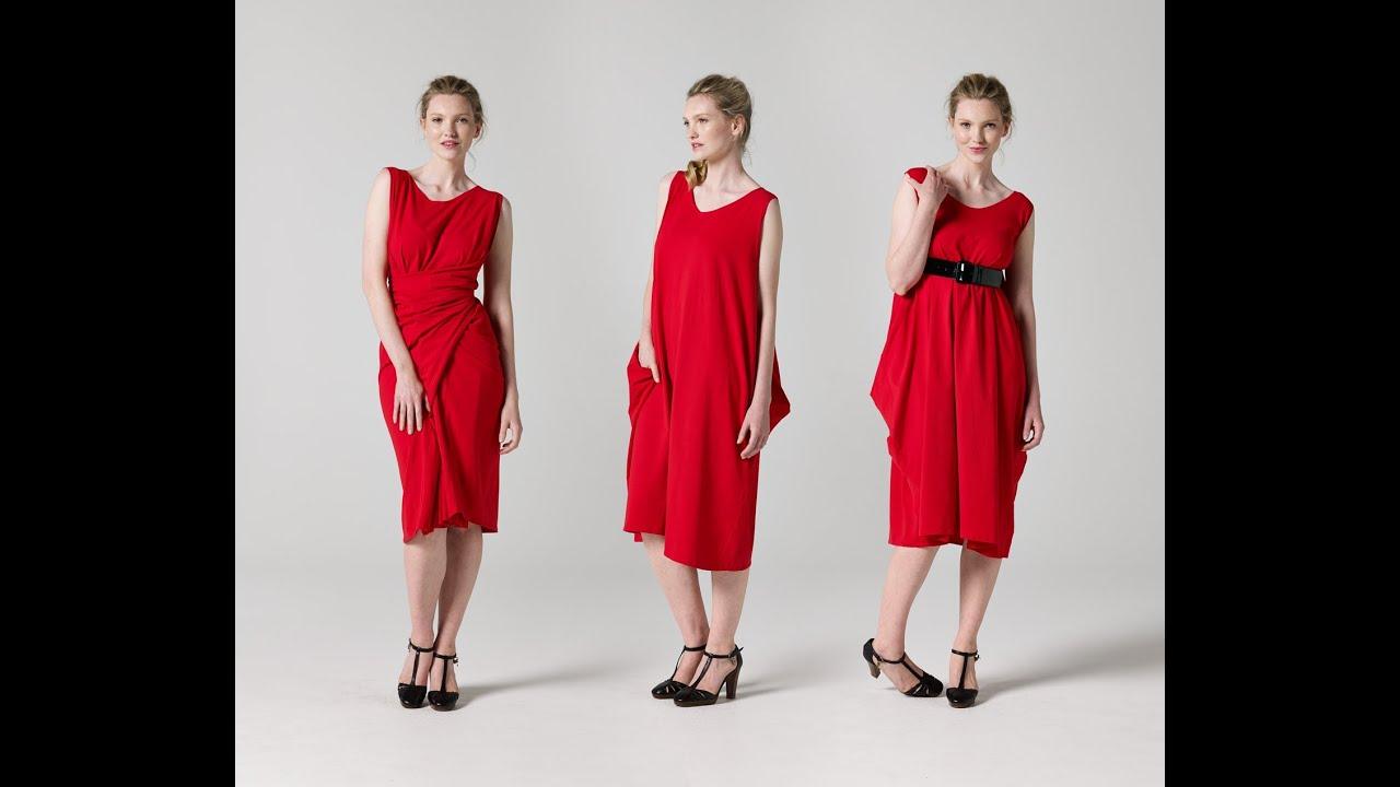 How To Make A Wrap Dress Teach Me Fashion Youtube