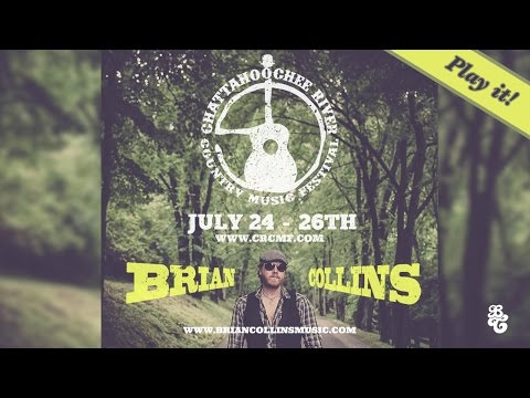 Brian Collins at the Chattahoochee River Country Music Festival