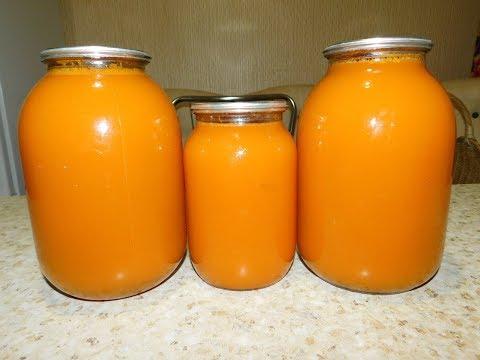 Тыквенный сок с апельсинами в домашних условиях