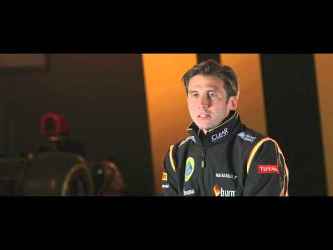 F1 2014 - Lotus E22 launch - Interview with Matthew Carter (CEO)