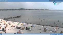 HD Live Kamera Eckernförde Meerwasser Wellenbad