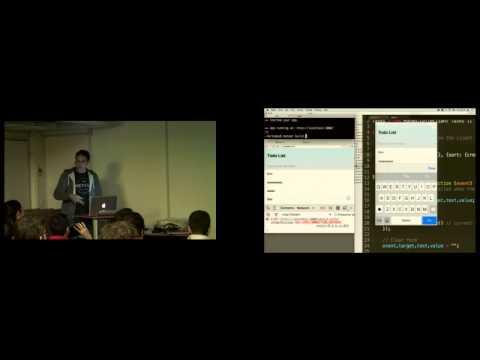 Live Coding Meteor par Vianney Lecroart