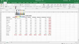 Cómo sumar en Excel 2016