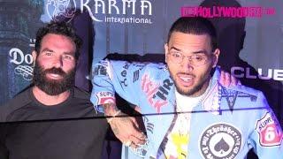 Chris Brown & Dan Bilzerian Attend The 2016 Maxim Halloween Party 10.22.16