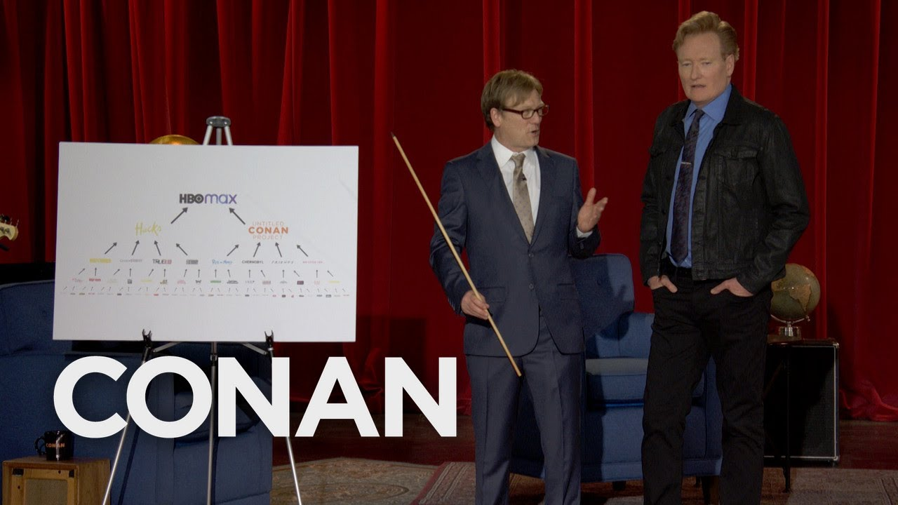 Conan Learns About The HBO Max Pyramid Scheme - CONAN on TBS