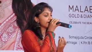 Idea star singer Shikha @ Onam celebration 2013, Hyderabad