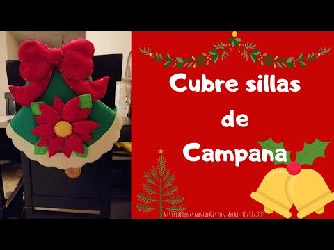 Cubre Sillas Campana Cap. 2 | #MCN🎄✨🎁