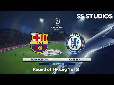 Pes 18•(Round of 16) : Fc Barcelona Vs Chelsea