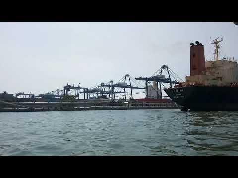MT. Nariva Berthing at Tanjung Priok Port of Jakarta Indonesia