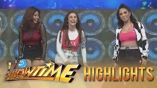 "It's Showtime: Roxanne, Louise, and Yassi's take on the ""Taga Saan Ka"" challenge"