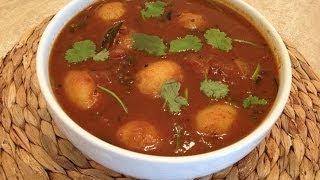 Potato Recipes - Potato Curry - Potato Tamarind Curry -  Monica