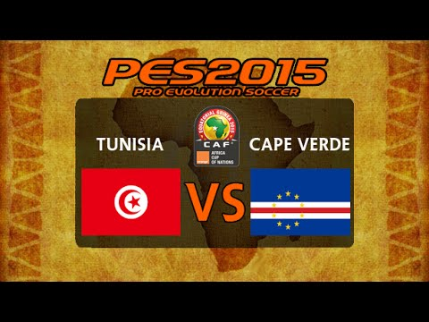 PES 2015 | Tunisia - Cape Verde | 2015 Africa Cup Of Nations Group B Matchday 1