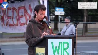 12. Friedensmahnwache in Wien: Eva über ihre Erfahrungen mit OPPT & UCC (14.7.2014)