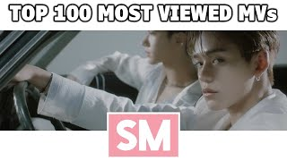 [TOP 100] Most Viewed SM Music Videos (May 2021)