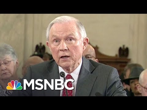Robert Mueller Reportedly Eyeing Sessions As Sessions Cheats On Recusal | Rachel Maddow | MSNBC