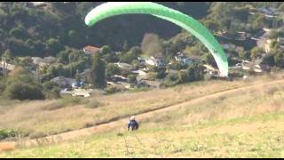 First Paragliding Lesson
