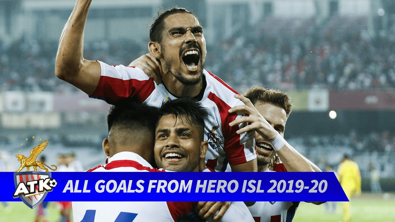 All of ATK FC's goals from Hero ISL 2019-20