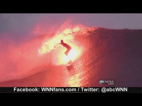 Surfing with Flare, Fire on Water