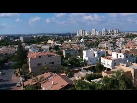 Dji Spark - AERIAL VIEW Rosh Haayin