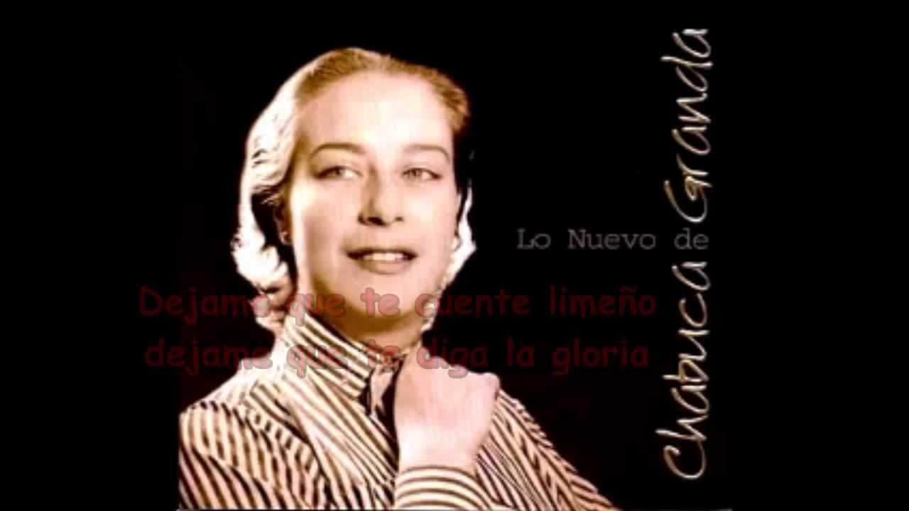La Flor de la Canela Chabuca Granda - YouTube