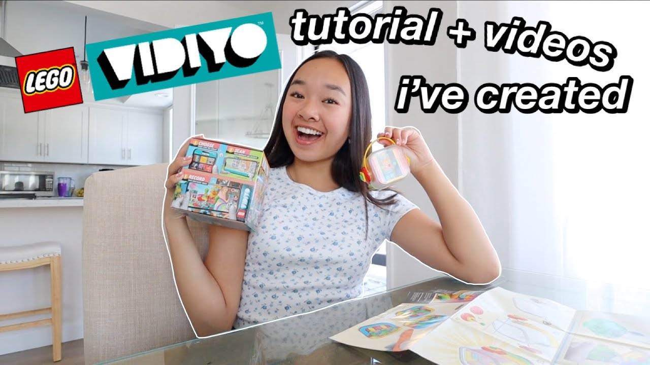 LEGO VIDIYO tutorial + videos i've created | Nicole Laeno
