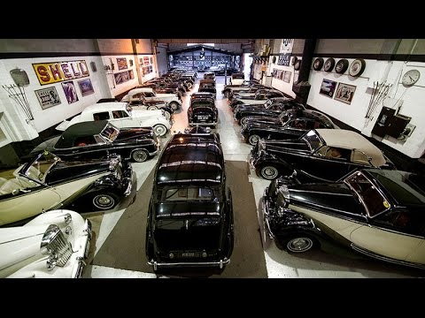 Wedding car hire Melbourne - 34 Classic Cars for hire- A tour of our showroom