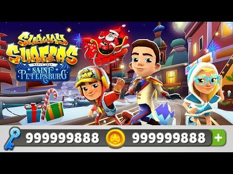 Subway Surfers Saint Petersburg DINERO ILIMITADO LLAVES ILIMITADAS