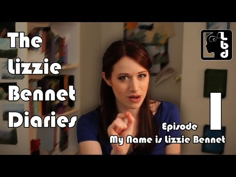 Image result for lizzie bennet diaries
